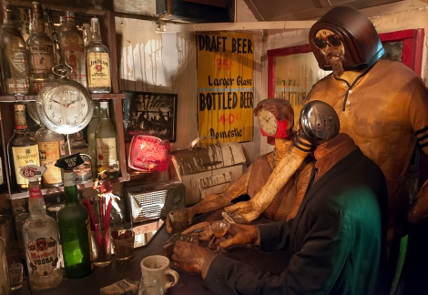 Artwork: The Beanery by Edward Kienholz