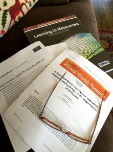Pile of articles on the Metaverse