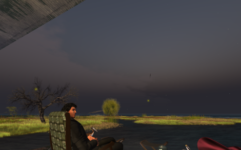 Cabin on the Gulf of Lune in Second Life