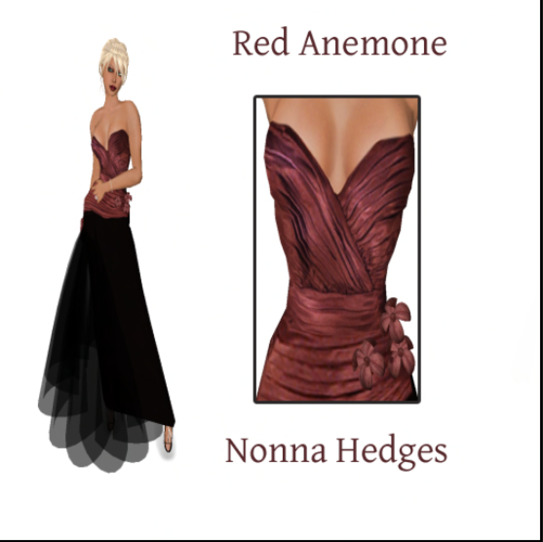 Nonna Hedges Gown, 2007