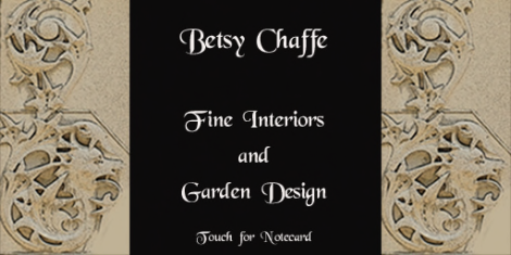 Betsy Chaffe Interiors sign