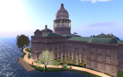 Texas Capitol Building in Second Life